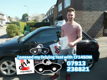 Many Congratulations To Ben, Passing His Practical Test Today With Just 2 Minors. Fantastic Drive, I Will Be Looking Out For You On The Football Field And I´m Anticipating A Premiership Future, Even If It Is With Swansea, Well Done Barry...