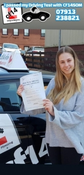 *** Many Congratulations Emily, From All Of Us At cf14 School Of Motoring ***