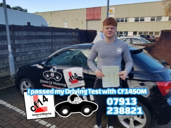 Many Congratulations Liam, passing before returning to school, great news, enjoy your new licence...