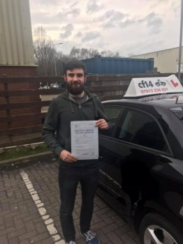 Congratulations Michael on your 1st attempt pass in cardiff today - a challenging route that you handled excellently - it was a pleasure teaching you Rebekah x...