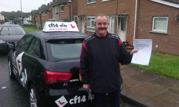 Well done Phil, you waited a long time for this, but passed first time! Many Congratulations, well deserved!...