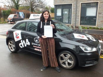 Fantastic! So very proud of you Yasmin. FIRST time pass and keeping it secret from your friends and family really helped. Good luck in Uni, Take Care Barry x...